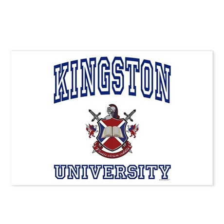 KINGSTON University Postcards (Package of 8)