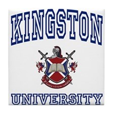 KINGSTON University Tile Coaster