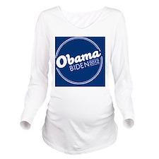 Obama Biden 2012 But Long Sleeve Maternity T-Shirt