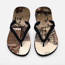Vintage Dublin Sackville Street Flip Flops