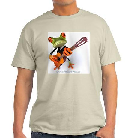 Frog with Guitar Light T-Shirt
