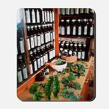 Herbal pharmacy Mousepad