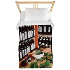 Herbal pharmacy Twin Duvet
