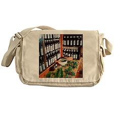 Herbal pharmacy Messenger Bag