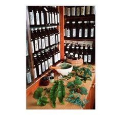 Herbal pharmacy Postcards (Package of 8)