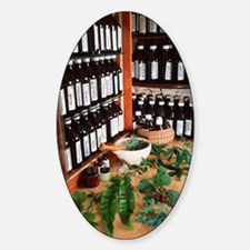Herbal pharmacy Sticker (Oval)