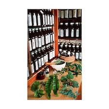 Herbal pharmacy Decal