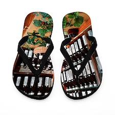 Herbal pharmacy Flip Flops