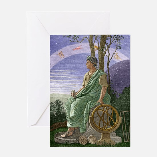 Hipparchus, Ancient Greek astronomer Greeting Card