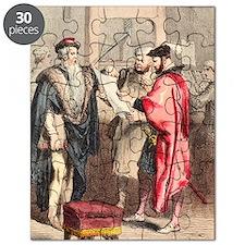 German printing press inventors Puzzle