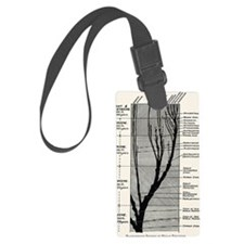 Human evolution Luggage Tag
