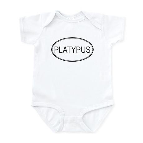 Oval Design: PLATYPUS Infant Bodysuit