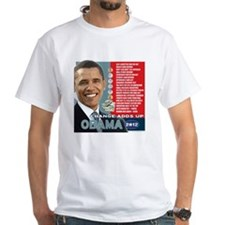 Obama 2012 T-shirts CHANGE ADDS U Shirt