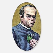 Gregor Mendel, Austrian botanist Decal