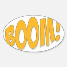 Boom! Decal