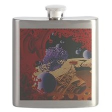 Inside of an imaginary cell Flask