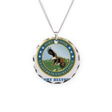 Fort Belvoir with Text Necklace