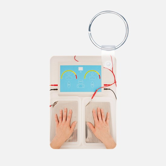 Iontophoresis for excess s Keychains