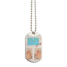 Iontophoresis for excess sweating Dog Tags