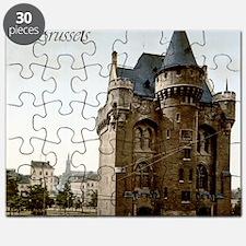 Vintage Brussels Porte de Hall Puzzle