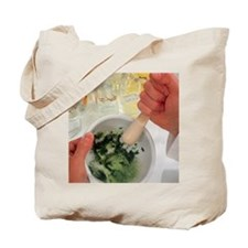 AIDS plant vaccine: pulping infected cowp Tote Bag