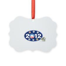 Obama 2012 T-shirts oval Ornament
