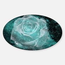 Celestial Rose Sticker (Oval)