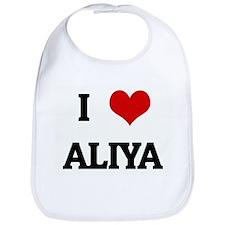 I Love ALIYA Bib