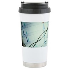 DNA and a genetic sequence Travel Mug