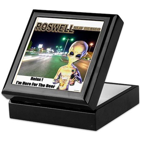 Roswells Coolest Alien Keepsake Box