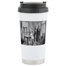Johann Gutenberg, German invent Travel Mug