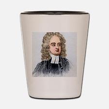 Jonathan Swift, English author Shot Glass