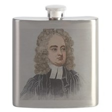 Jonathan Swift, English author Flask