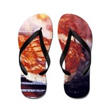 Barbecue Flip Flops