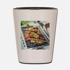 Barbeque Shot Glass