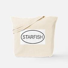Oval Design: STARFISH Tote Bag