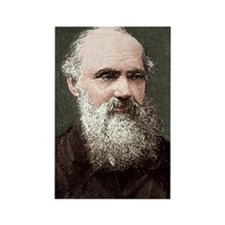 Lord Kelvin, Scottish physicist Rectangle Magnet