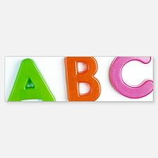 Alphabet Sticker (Bumper)