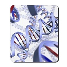 DNA helices Mousepad