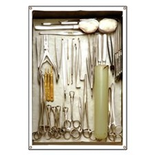Instruments used in orthopedic surgery Banner