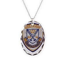 uss leahy dlg patch transparen Necklace