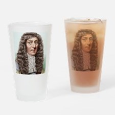 John Aubrey, English archaeologist Drinking Glass