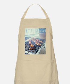 Barbecuing meat Apron