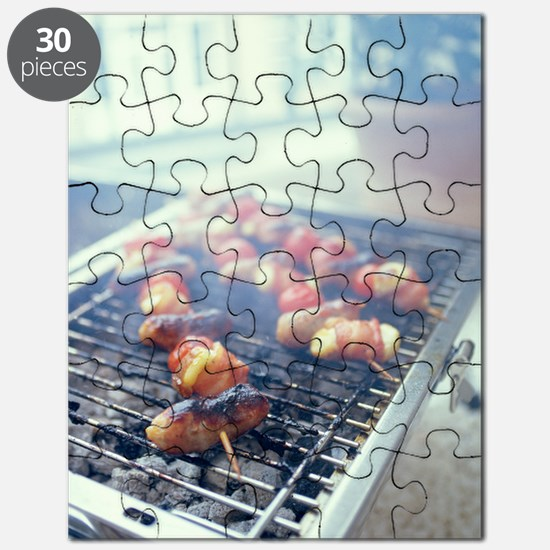 Barbecuing meat Puzzle
