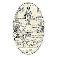 Matthew Hopkins, English witch hunt Decal