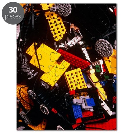 Assorted Lego bricks and cogs Puzzle