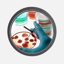 Microbiology research Wall Clock