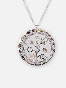 Medieval urine wheel Necklace