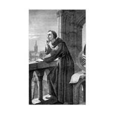 Roger Bacon, English natural p Decal