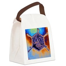 Adenovirus Canvas Lunch Bag